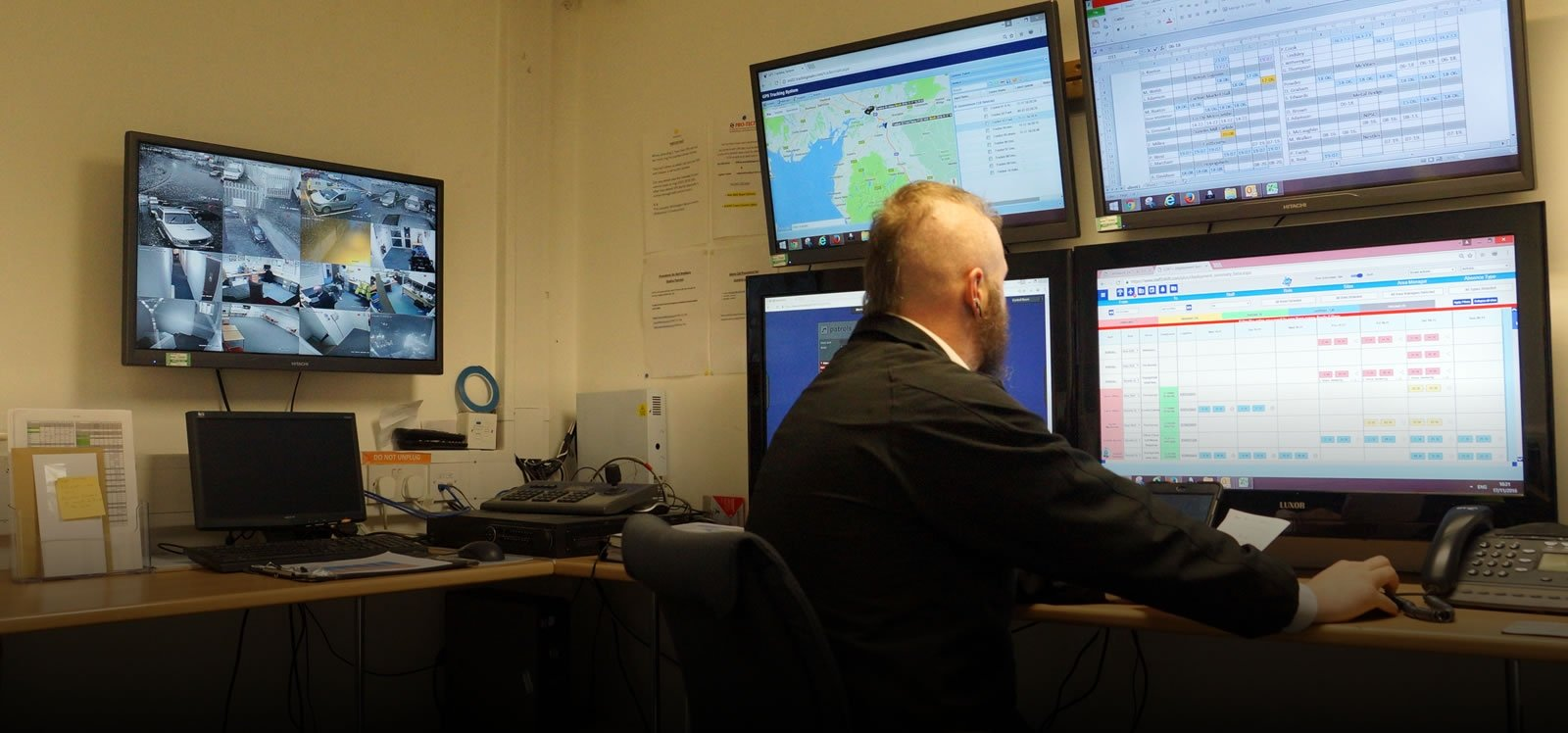 24 7 security control room cumbria