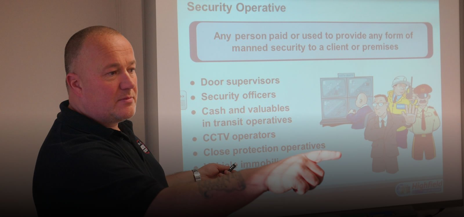 training for security offices in cumbria